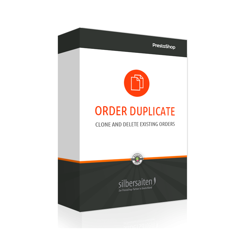 OrderDuplicator – Clone and Delete Existing Order