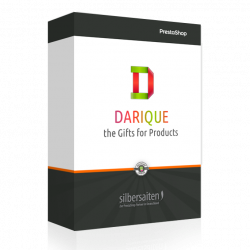 Darique - gift products in your cart