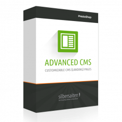 AdvancedCMS - Contenmaker für Landing Pages