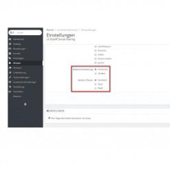 Shariff Social Sharing Modul: Social-Media-Buttons mit Datenschutz